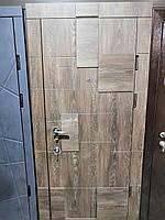 Двери входные металлические Булат Олимп 850*2050/950*2050 804 Дуб Шале Корица