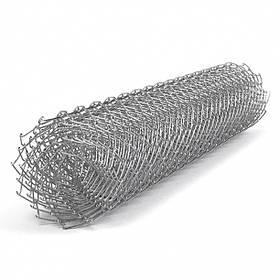 Сетка рабица Сітка Захід высота 2м длина 10м ф3.0оц ячейка 50х50мм
