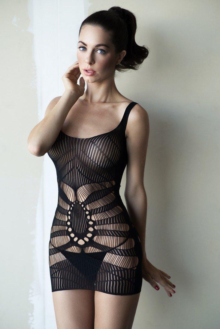 Сексуальное белье пеньюар-сетка/ Сексуальное белье/ Эротическое белье