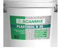 Фасадная декоративная штукатурка SCANMIX  PLASTERSIL R Короед силиконовая 25 кг (0887)