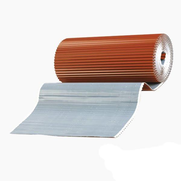 Лента для обработки примыкания WA-BIS Alu Plus 300 х 5000 мм Каштановый (0982)