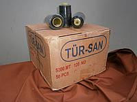 Нитки армированные TUR-SAN №120 5000м черные акция
