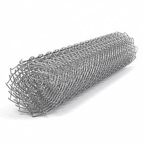 Сетка рабица Сітка Захід высота 1,5м длина 10м ф2.0оц ячейка 50х50мм