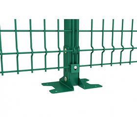 Опора основания столба 40х60 для монтажа к бетону (1710)