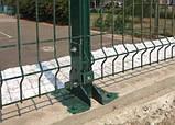 Опора основания столба 40х60 для монтажа к бетону (1710), фото 2