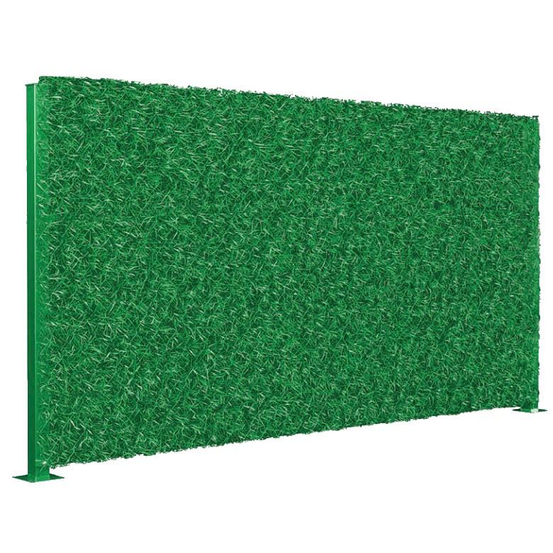 Забор зеленый декоративное ограждение Dark Green