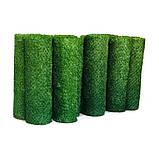 Забор зеленый декоративное ограждение Dark Green, фото 4