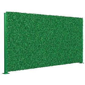 Забор зеленый декоративное ограждение Light Green