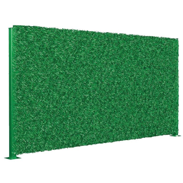 Забор зеленый декоративное ограждение Mixed Green