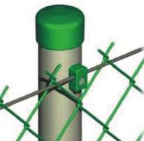 Фіксатор дроту під саморіз (зелений)
