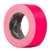 Флуоресцентная клейкая лента Le Mark MAGTAPE™ XTRA MATT Fluorescent Pink 25mm X 25m (MATTCTME25NPK25)