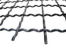 Сетка канилированная (мет.) ячейка 50х50 мм Ф5мм,размер карты 1,5х2м