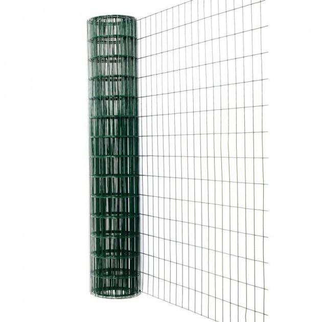 Рулонный забор Заграда Классик 1,5х10 м D=2,2 мм ячейка 50х100 мм