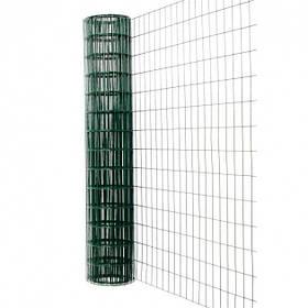 Рулонный забор Заграда Премиум 1,5х10 м D=2,2 мм ячейка 50х50 мм