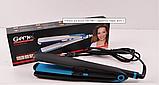Утюжок для волос  2 в 1 гофре GM 1961 Черно-синий, фото 3