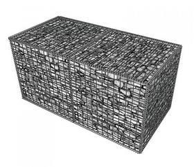 Габион металлический прут, горячий цинк Ш*В*Д 0,3*0,5*2,0 м, толщина 4 мм