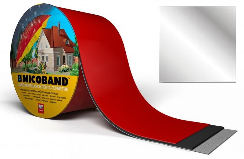Самоклеюча стрічка-герметик NICOBAND 7,5 см*3м