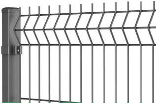 """Секційний паркан, огорожа Секція """"ЕКО"""" 200х50мм 3,00 мм/4,00 мм 1.23 м/2,50 м оц. т/н"""