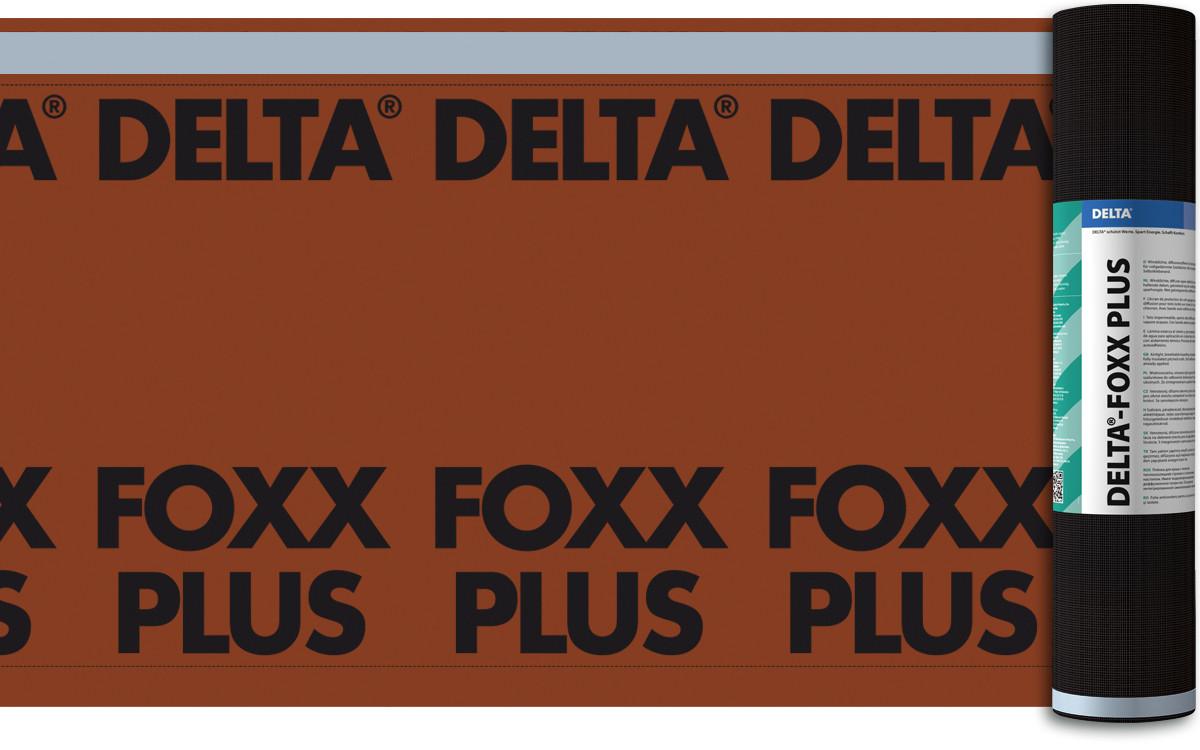 ДИФФУЗИОННАЯ МЕМБРАНА DORKEN DELTA®-FOXX PLUS 270 Г/М.КВ. 1,5М Х 50М (1343)
