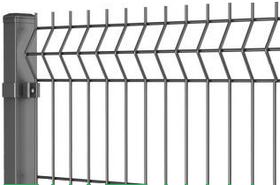 Секционный забор, ограждение, Секция  ЗАГРАДА ЭКО оцинкованные 200х50мм 3,00мм/4,00мм 1,50м/3,00м