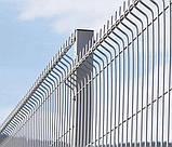 Столб ЗАГРАДА ЭКО оцинкованный 60х40мм/2,50м, фото 2