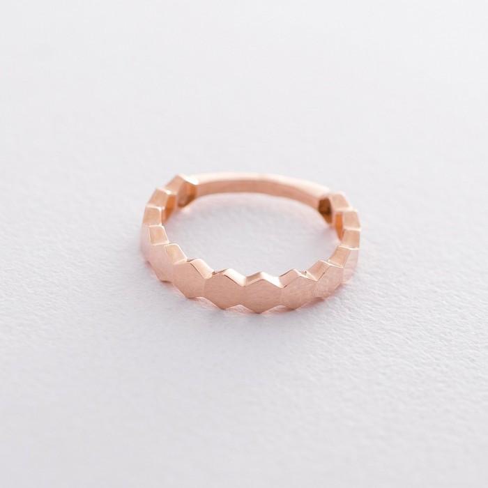 Золотое кольцо без камней гк06216