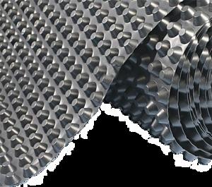 Шиповидная геомембрана - Ventfol 500 Super 40м2/рулон
