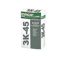 Клей для приклеивания плит из ППС и минер.ваты ЗК-45 ProfLine