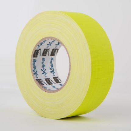 Флуоресцентная клейкая лента Le Mark MAGTAPE™ XTRA MATT Fluorescent Yellow 25mm X 25m (MATTCTME25NYE25)