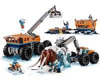 Конструктор Bela 10997 City Сити Арктика Передвижная Арктическая База 804 Деталей, фото 1