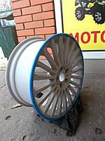 Защита литых дисков синего цвета R13-R14