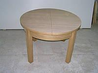 Стол деревянный круглый раскладной 005