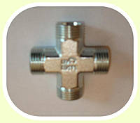 Соединение-крестовое фитинг-фитинг (резьба 18х1,5)