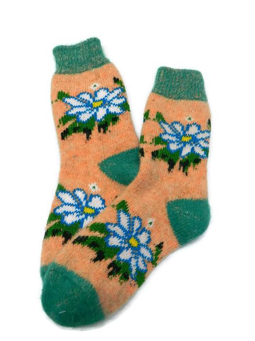 Носки из ангорской шерсти 22 см