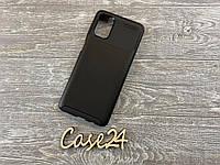 Чехол для Ultimate Experience Carbon (TPU) Samsung Galaxy M51 черный, фото 1