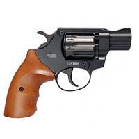 Револьвер под патрон Флобера Safari РФ 420 рукоятка бук, фото 1