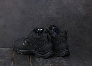 Мужские кроссовки искусственная кожа зимние черные Ditof А 1881 -15, фото 2