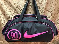 Сумка женские спортивная nike черный(только оптом)женские сумка/спорт сумки/Женская спортивная сумка, фото 1