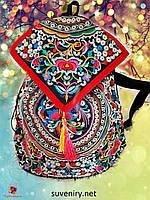 Ексклюзивний великий рюкзак в карпатському стилі різні види