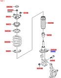 Амортизатор передний правый киа Соренто 3, KIA Sorento 2015-18 UM, 54661c5260, фото 4