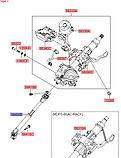 Кардан рулевого вала киа Соренто 4, KIA Sorento 2018- UM, 56400c5000, фото 5