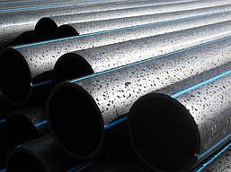 Трубы  водопроводные из полиэтилена ПЭ-100 SDR 13,6 (12,5 атм)