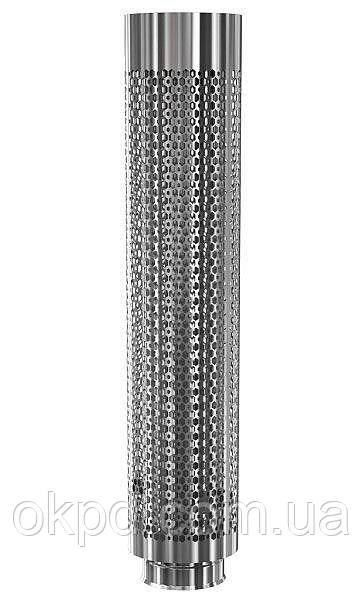Сетка для камней на трубу 1000 мм Ø 115/200 мм для бани и сауны
