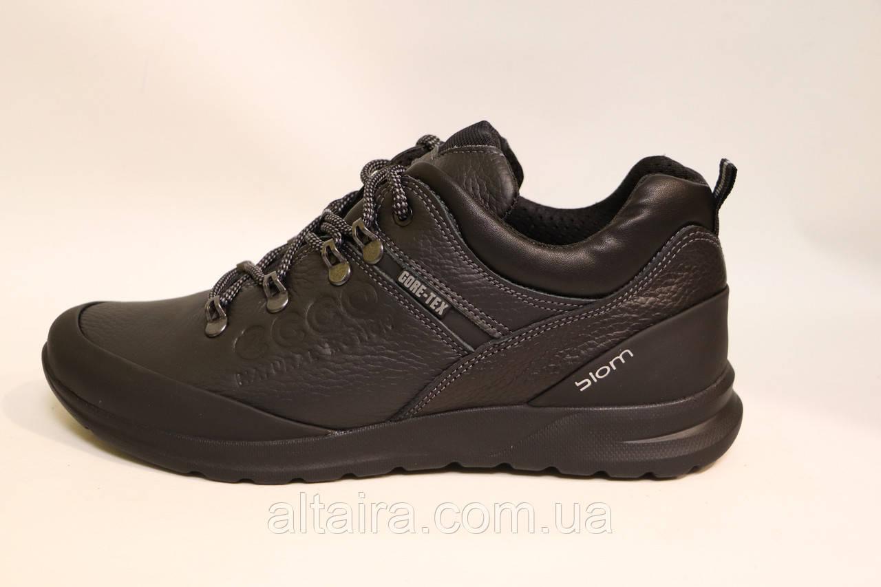 Чоловічі демісезонні шкіряні туфлі в спортивному стилі. Розміри 40-45.