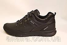 Мужские демисезонные кожаные туфли в спортивном стиле. Размеры 40-45.