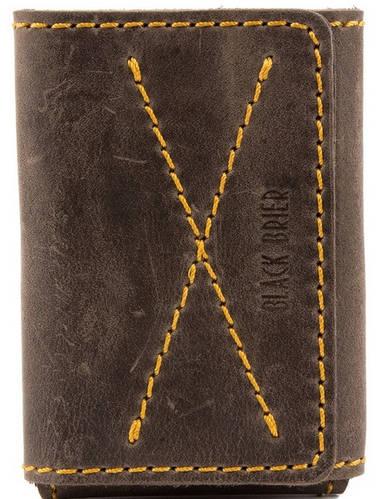 Кожаная функциональная обложка для водительских документов Black Brier ОП-11-33 коричневый