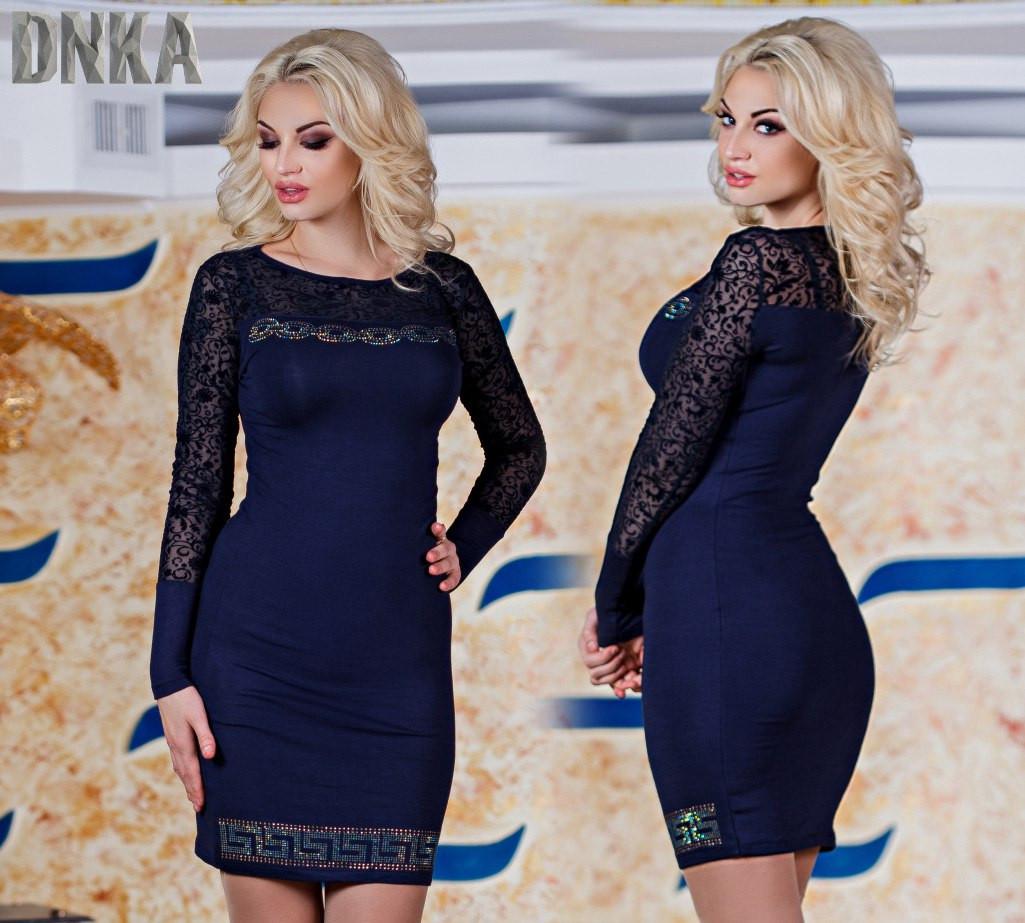 Платье вискон