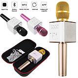 Беспроводной Bluetooth микрофон для караоке Q9, фото 4