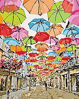 Картина по номерам Идейка «Яркая улочка 2» 40x50 см (КНО3508), фото 4