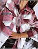 """Женская теплая рубашка в клетку """"Elba"""", фото 4"""